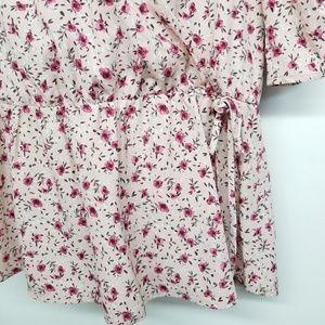 Pleione Tops - Anthro Pleione floral blouse